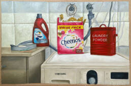 Laundry Room (2020) Oil on MDF