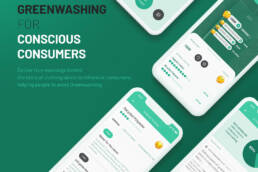 Wash away: greenwashing for conscious consumers (2020) Sketch, Photoshop